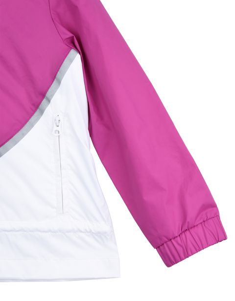 Scuderia Ferrari Online Store - Rain jacket for girls with gathering at the sides - Raincoats