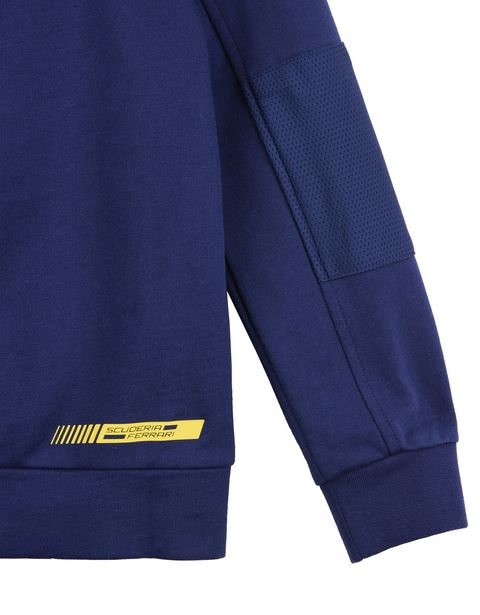 Scuderia Ferrari Online Store - Scuderia Ferrari zippered sweatshirt for teens - Zip Sweaters