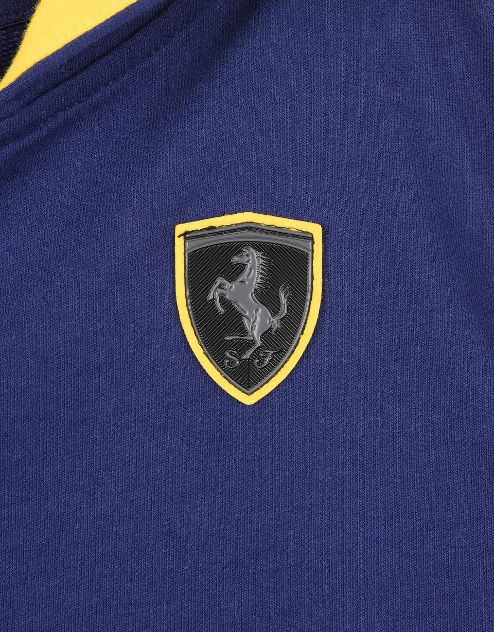 Scuderia Ferrari Online Store - Scuderia Ferrari zip sweatshirt for teens - Zip Jumpers