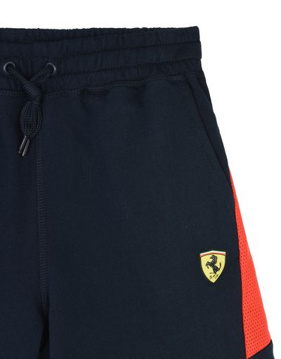 Scuderia Ferrari Online Store - Shorts for teens with Scuderia Ferrari print - Shorts