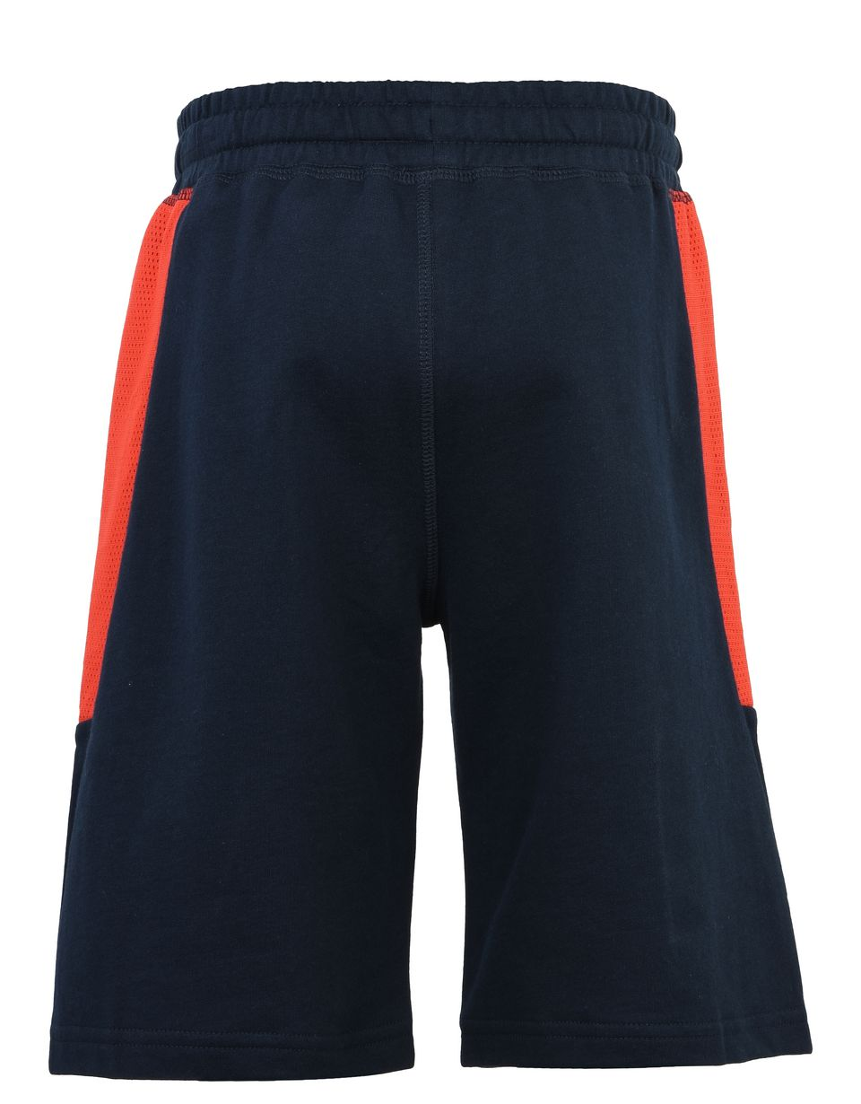 Scuderia Ferrari Online Store - Pantaloni corti ragazzo con stampa Scuderia Ferrari - Shorts