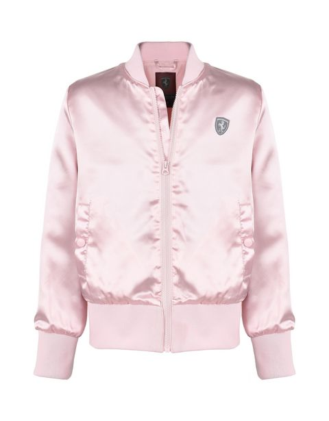 Bomber jacket for girls with Shield on the chest