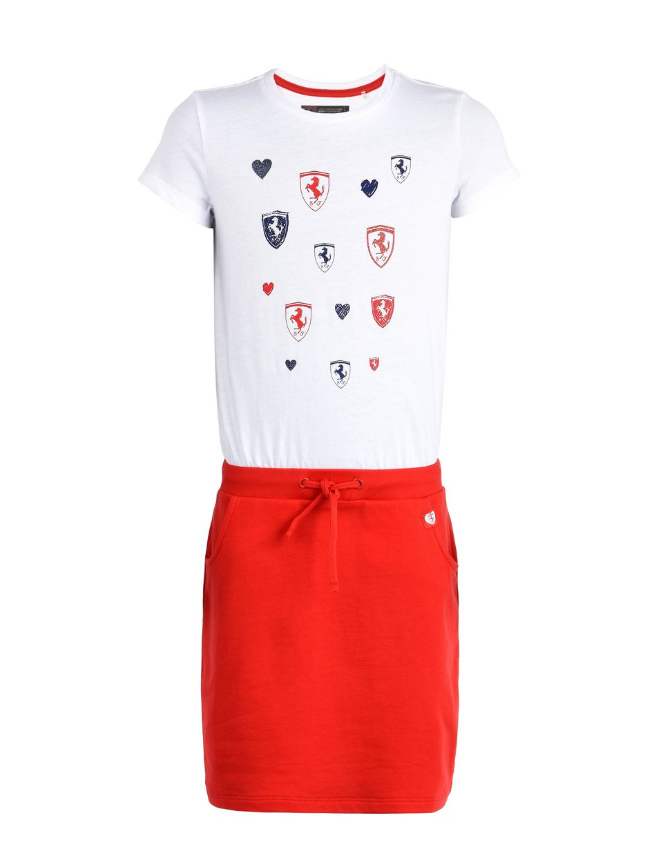 Scuderia Ferrari Online Store - Short-sleeve dress for girls -