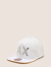 ARMANI EXCHANGE MESH REFLECTIVE LOGO HAT Hat [*** pickupInStoreShippingNotGuaranteed_info ***] f