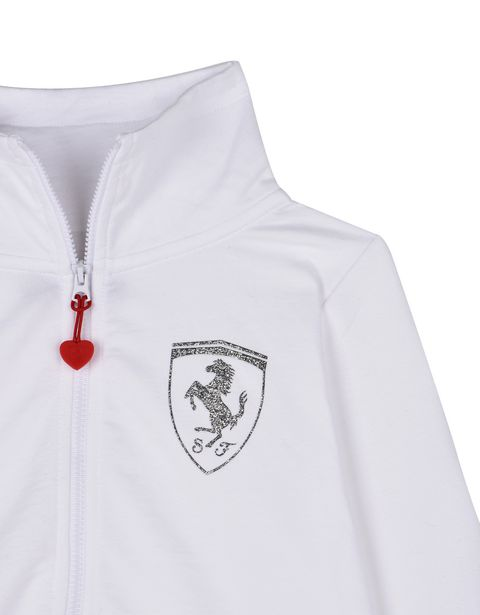 Scuderia Ferrari Online Store - Girls sweatshirt with high collar - Zip Jumpers