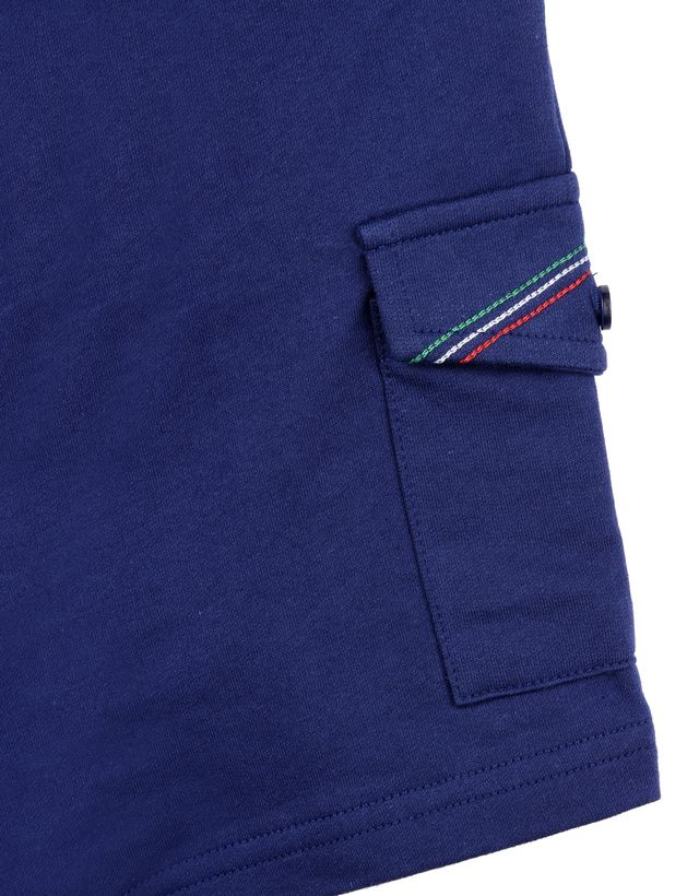 Scuderia Ferrari Online Store - Baby Bermuda shorts with faux opening -