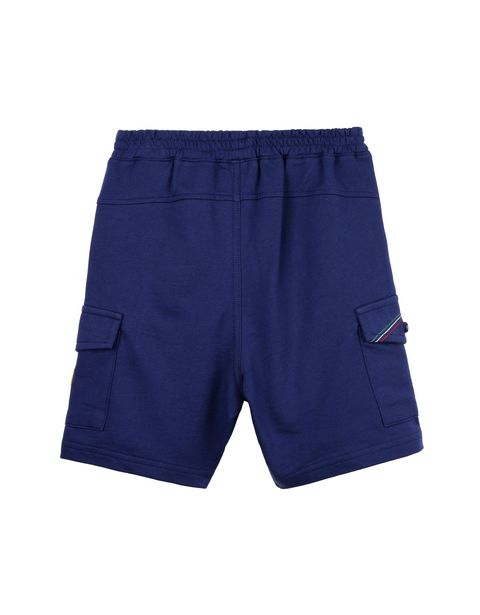 Baby Bermuda shorts with faux zipper fly