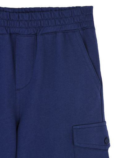 Scuderia Ferrari Online Store - Baby Bermuda shorts with faux opening - Shorts