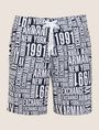 ARMANI EXCHANGE TYPOGRAPHY LOGO SWIM SHORTS Swim Man r