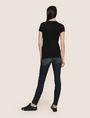 ARMANI EXCHANGE GLITTER SHOWER LOGO TEE Logo T-shirt Woman e