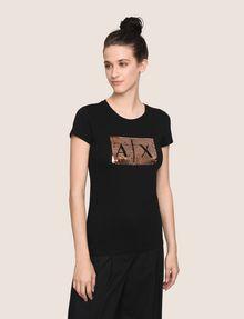 ARMANI EXCHANGE Camiseta con logotipo [*** pickupInStoreShipping_info ***] f