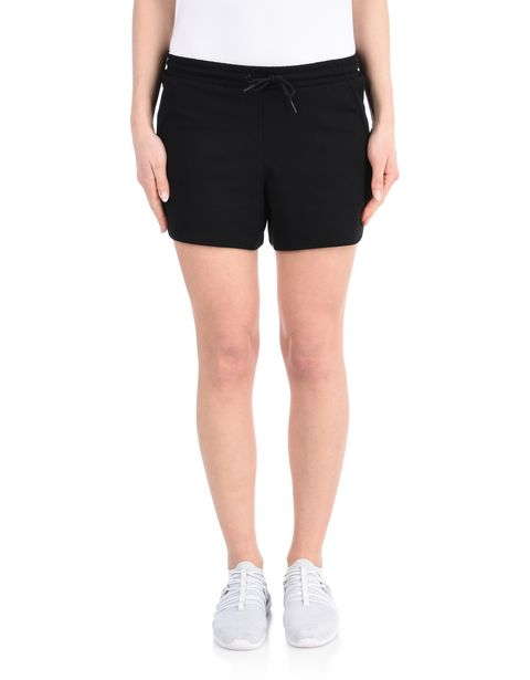 Women's cotton fleece shorts