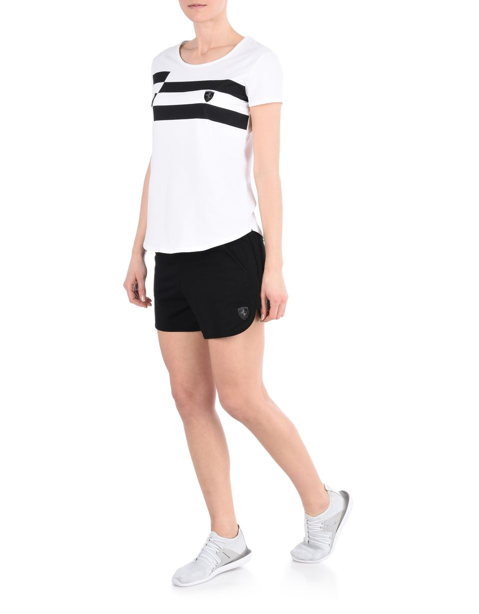 Scuderia Ferrari Online Store - Women's cotton fleece shorts - Shorts