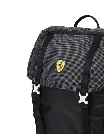 Scuderia Ferrari Online Store - Scuderia Ferrari Fanwear Night backpack - Regular Rucksacks