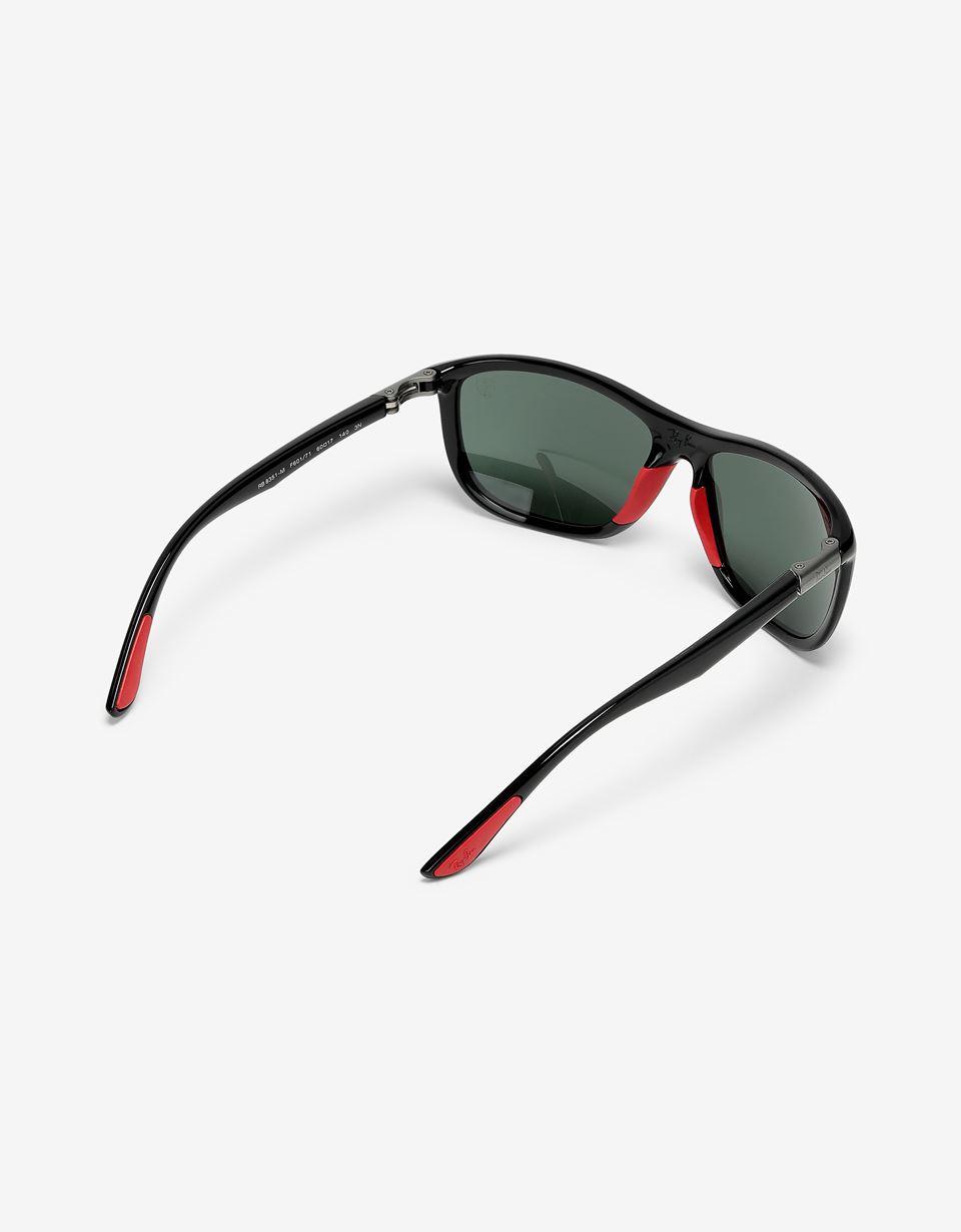 Scuderia Ferrari Online Store - Ray-Ban for Scuderia Ferrari 0RB8351M nero lucido - Occhiali da Sole
