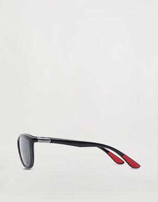 Scuderia Ferrari Online Store - Ray-Ban x Scuderia Ferrari Transparent Grey 0RB8351M - Sunglasses