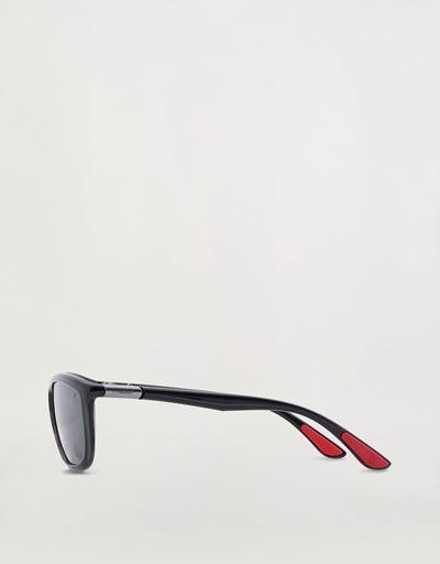 Scuderia Ferrari Online Store - Ray-Ban for Scuderia Ferrari 0RB8351M grigio trasparente - Occhiali da Sole