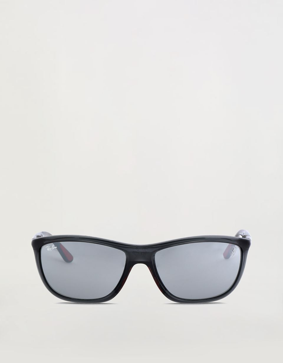 Scuderia Ferrari Online Store - Ray-Ban x Scuderia Ferrari Transparent Gray 0RB8351M - Sunglasses