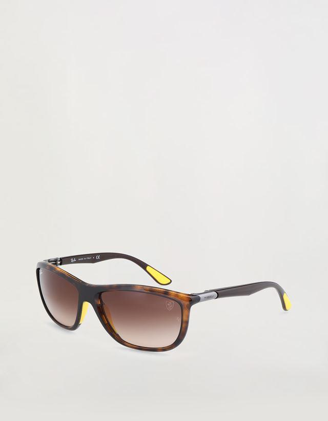"Scuderia Ferrari Online Store - Солнцезащитные очки от Ray-Ban для Scuderia Ferrari: 0RB8351M цвета ""гавана"" - Солнцезащитные очки"