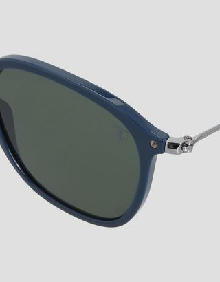 Scuderia Ferrari Online Store - Ray-Ban x Scuderia Ferrari Wayfarer Combo Blue 0RB2448NM - Sunglasses
