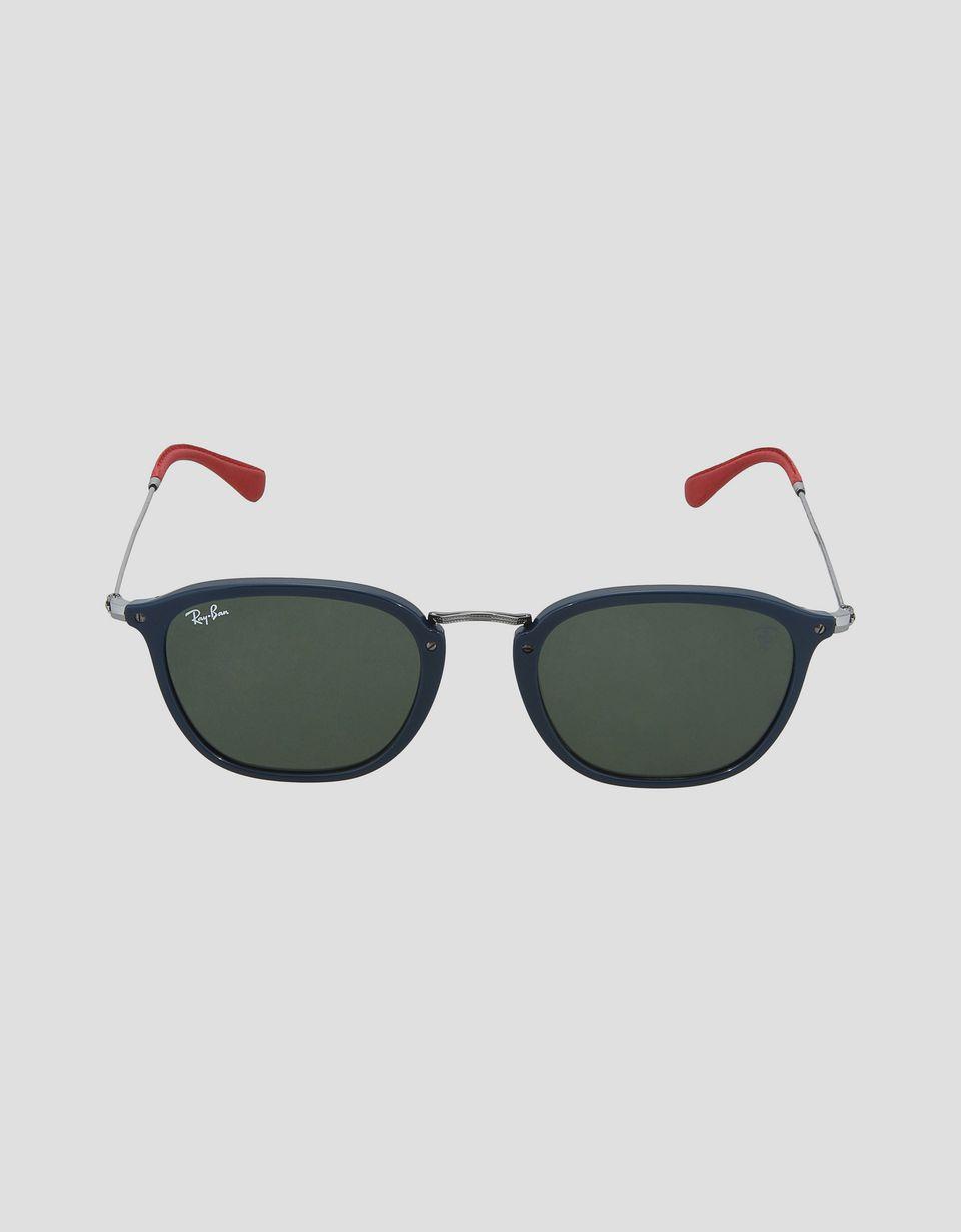 Scuderia Ferrari Online Store - Lunettes de soleil Ray-Ban for Scuderia Ferrari Wayfarer Combo couleur bleu 0RB2448NM - Lunettes de soleil