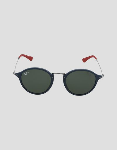 Ray-Ban for Scuderia Ferrari Round Combo canna di fucile 0RB2447NM