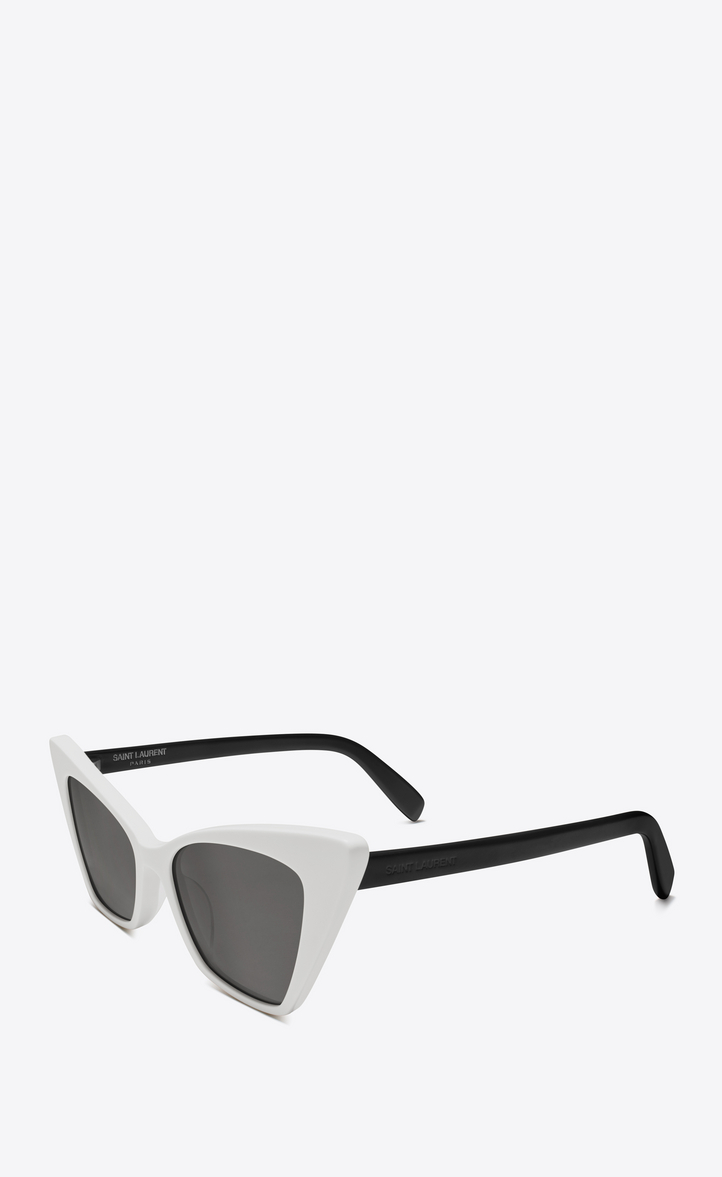 Victoire sunglasses - White Saint Laurent Eyewear yKZKn4Kjy