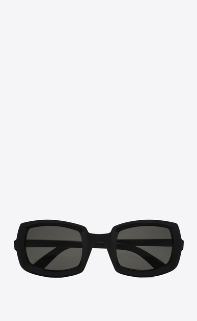 SAINT LAURENT NEW WAVE Woman new wave 245 sunglasses in black acetate with gray lenses a_V4