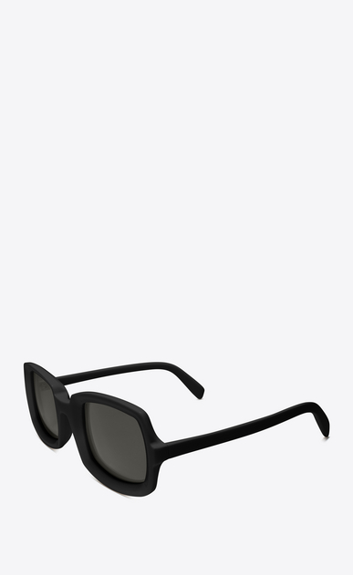 SAINT LAURENT NEW WAVE Woman new wave 245 sunglasses in black acetate with gray lenses b_V4