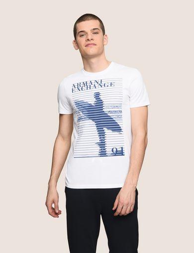 ARMANI EXCHANGE Logo-T-Shirt Herren F