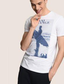 ARMANI EXCHANGE SHUTTER SURFER LOGO TEE Logo T-shirt Man a