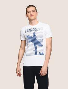 ARMANI EXCHANGE SHUTTER SURFER LOGO TEE Logo T-shirt Man f