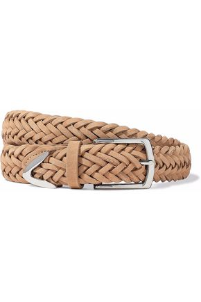 RAG & BONE Braided suede belt