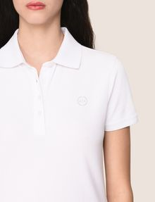 ARMANI EXCHANGE CLASSIC CIRCLE INSIGNIA POLO SHORT SLEEVES POLO Woman b