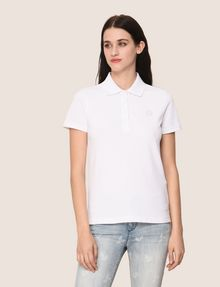 ARMANI EXCHANGE CLASSIC CIRCLE INSIGNIA POLO SHORT SLEEVES POLO Woman f