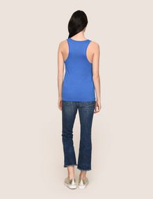 ARMANI EXCHANGE CLASSIC CURVED LOGO TANK Tank top Woman e