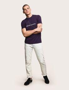 ARMANI EXCHANGE CLASSIC DIAGONAL LOGO TEE Logo T-shirt Man d