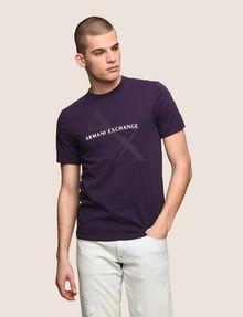ARMANI EXCHANGE CLASSIC DIAGONAL LOGO TEE Logo T-shirt Man f