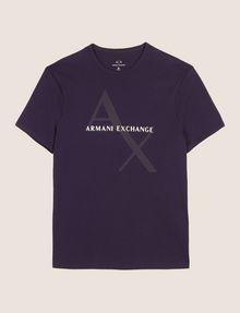 ARMANI EXCHANGE CLASSIC DIAGONAL LOGO TEE Logo T-shirt Man r