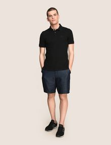 ARMANI EXCHANGE CLASSIC TIPPED COLLAR PIQUE POLO SHORT SLEEVES POLO Man d