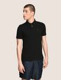 ARMANI EXCHANGE CLASSIC TIPPED COLLAR PIQUE POLO SHORT SLEEVES POLO Man f