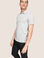 ARMANI EXCHANGE CLASSIC TIPPED COLLAR PIQUE POLO SHORT SLEEVES POLO Man a