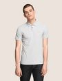 ARMANI EXCHANGE CLASSIC TIPPED COLLAR PIQUE POLO SHORT SLEEVES POLO [*** pickupInStoreShippingNotGuaranteed_info ***] f