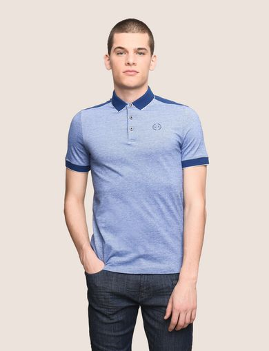BICOLOR CIRCLE INSIGNIA POLO