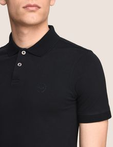 ARMANI EXCHANGE CLASSIC TIPPED COLLAR PIQUE POLO SHORT SLEEVES POLO Man b
