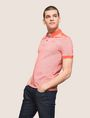 ARMANI EXCHANGE BICOLOR CIRCLE INSIGNIA POLO SHORT SLEEVES POLO Man a