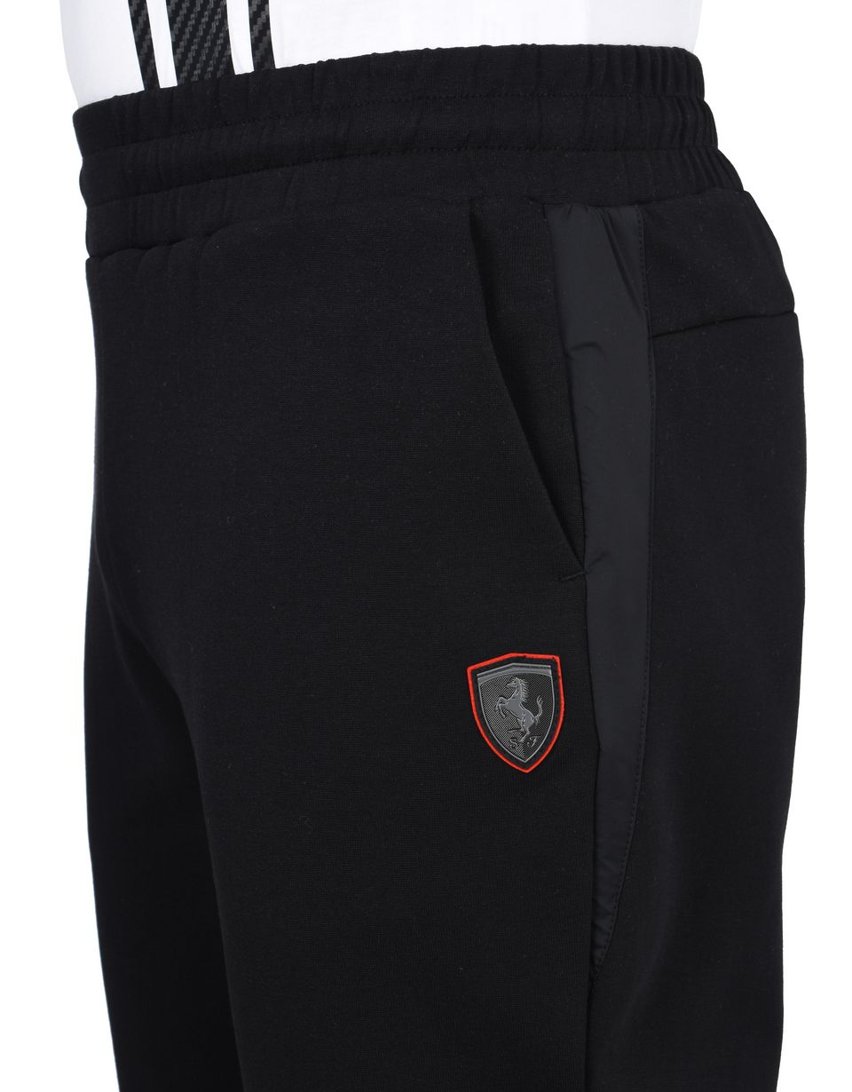 Scuderia Ferrari Online Store - Men's sports trousers in scuba fabric -