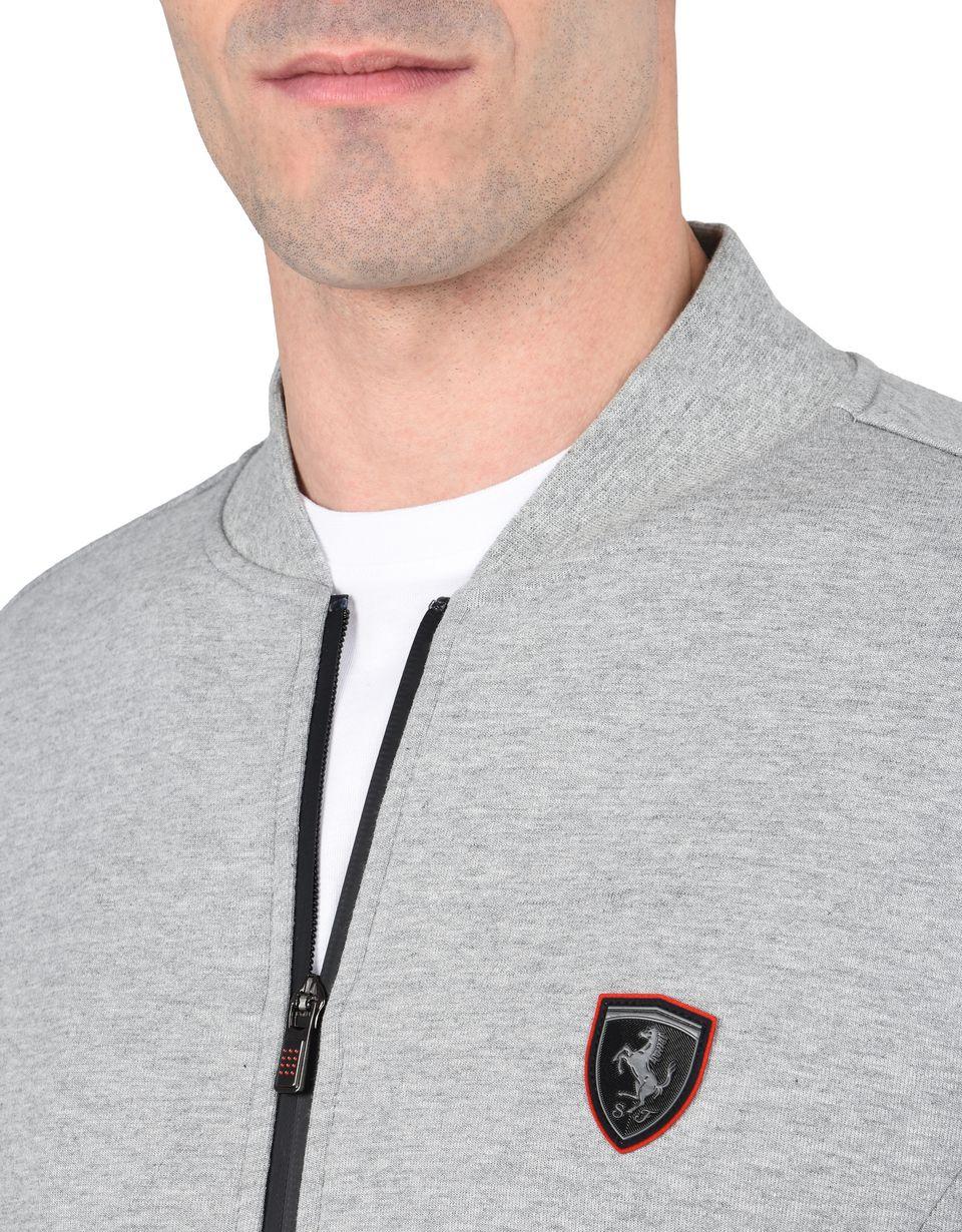 Scuderia Ferrari Online Store - Sweatjacke aus Scuba mit durchgehendem Reißverschluss - Pullover mit Reißverschluss