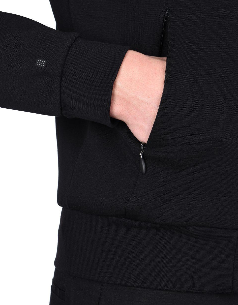 Scuderia Ferrari Online Store - Pull en tissu néoprène entièrement zippé - Zip Jumper