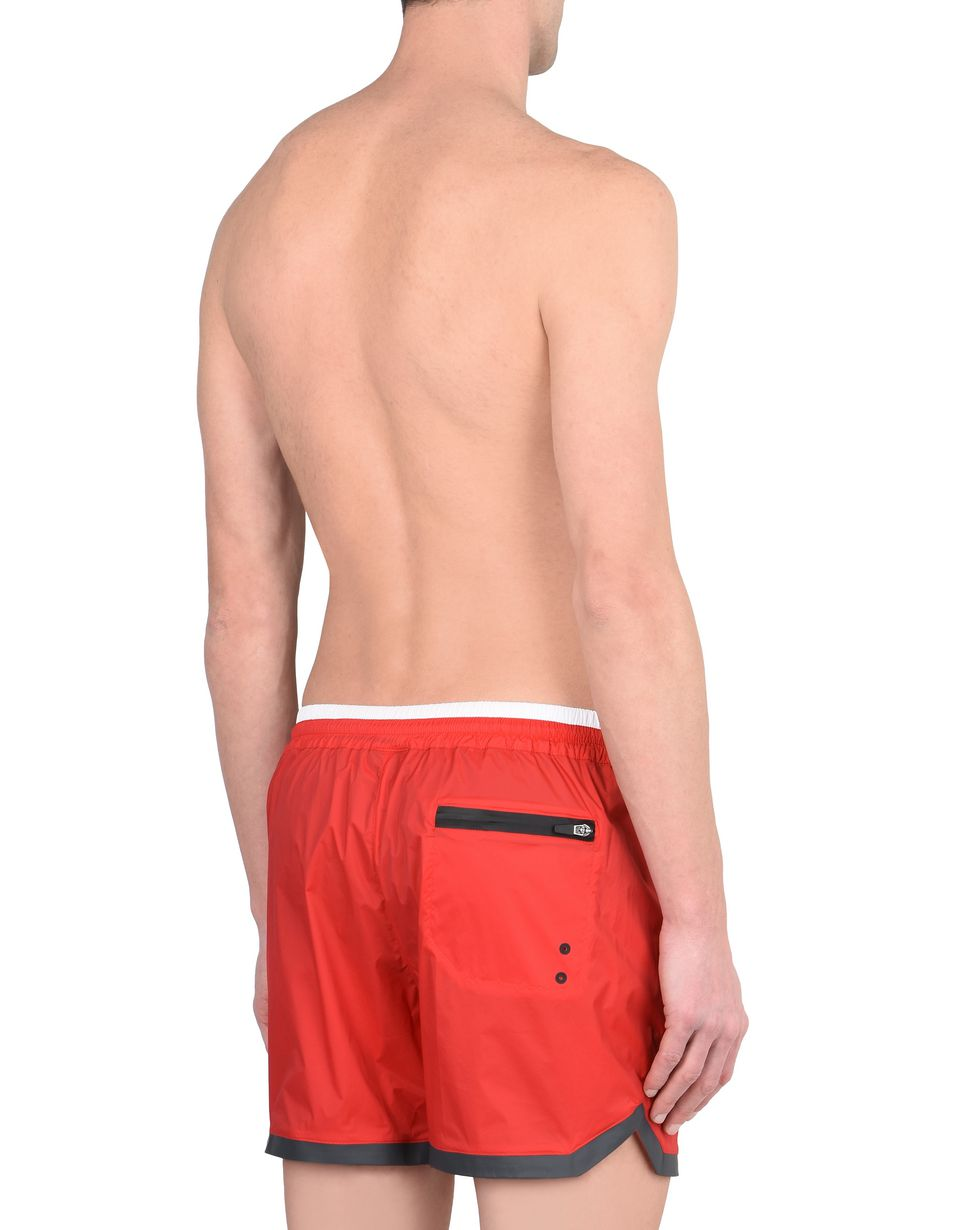 Scuderia Ferrari Online Store - Men's stretch nylon swimsuit - Swimming Shorts